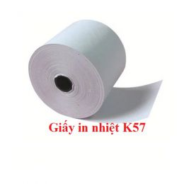 Giấy in nhiệt khổ 57mm